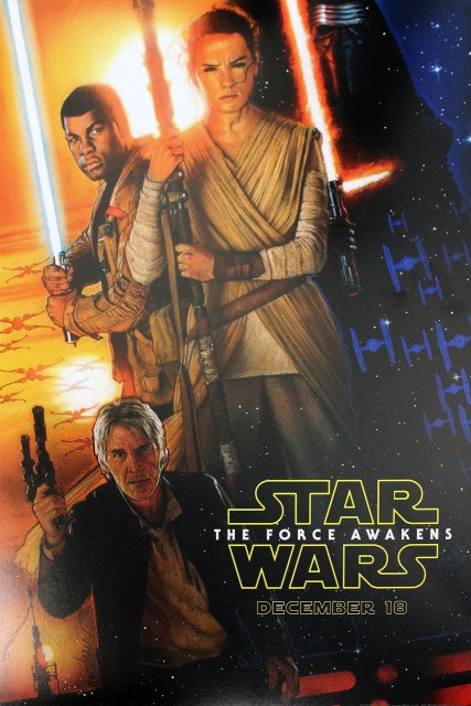 Filmplakat Star Wars: The Force Awakens