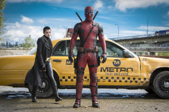 Deadpool und Negasonic Teenage Warhead. (Quelle: © Twentieth Century Fox of Germany GmbH)