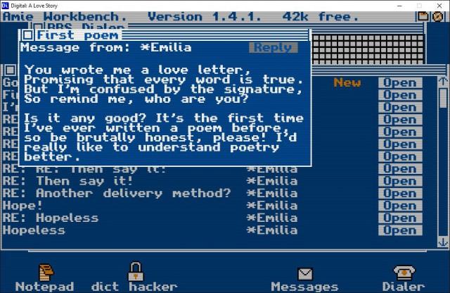 Das Pseudo-Betriebssystem von Digital: A Love Story