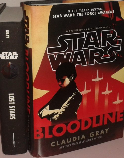 Die Star Wars Roman Lost Stars und Bloodline von Glaudia Gray. Foto: Stefan Krüger
