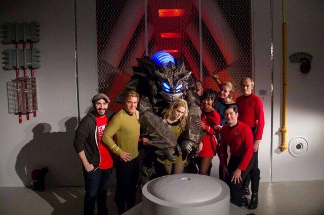 Husti ist ein neues Alien welches für die Serie konzipiert und gebaut wurde.