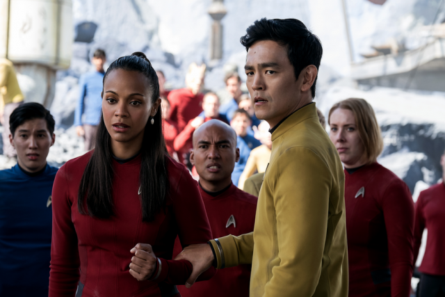 Diversität in der Crew der Enterprise (Quelle: © Paramount Pictures Germany)