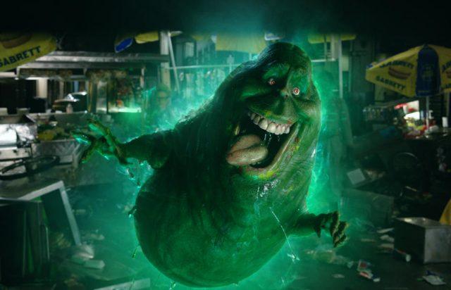 Ein Cameo von Slimer ist auch Teil des Films (Quelle: © Sony Pictures Releasing GmbH)