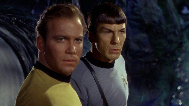 Kirk und Spock werden 50 Jahre alt. (Quelle: © NBC)