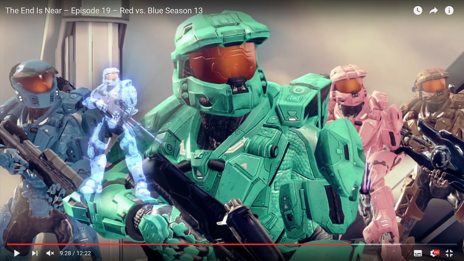 Halo Dramedy in Rot und Blau? – RED vs BLUE