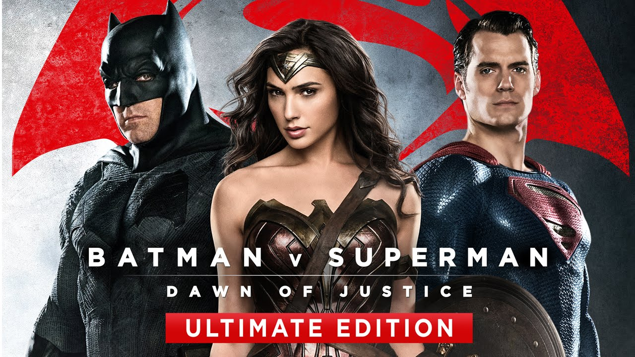 Das Blu-Ray Cover von Batman v Superman - Dawn of Justice Ultimate Edition. (Quelle: © Warner Bros.)