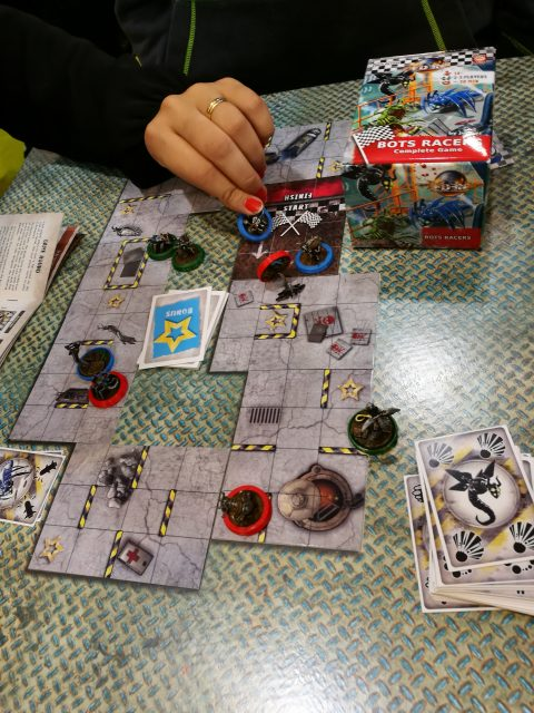 Bots Racers- ein Rennspiel mit stimmigen Mechanismen und tollen Miniaturen