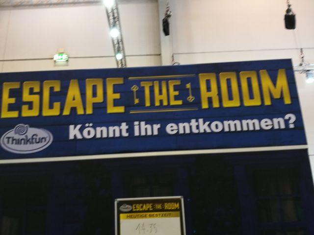 """Eines der Trendthemen der Spiel waren Brettspielumsetzungen """"Escape the room"""""""