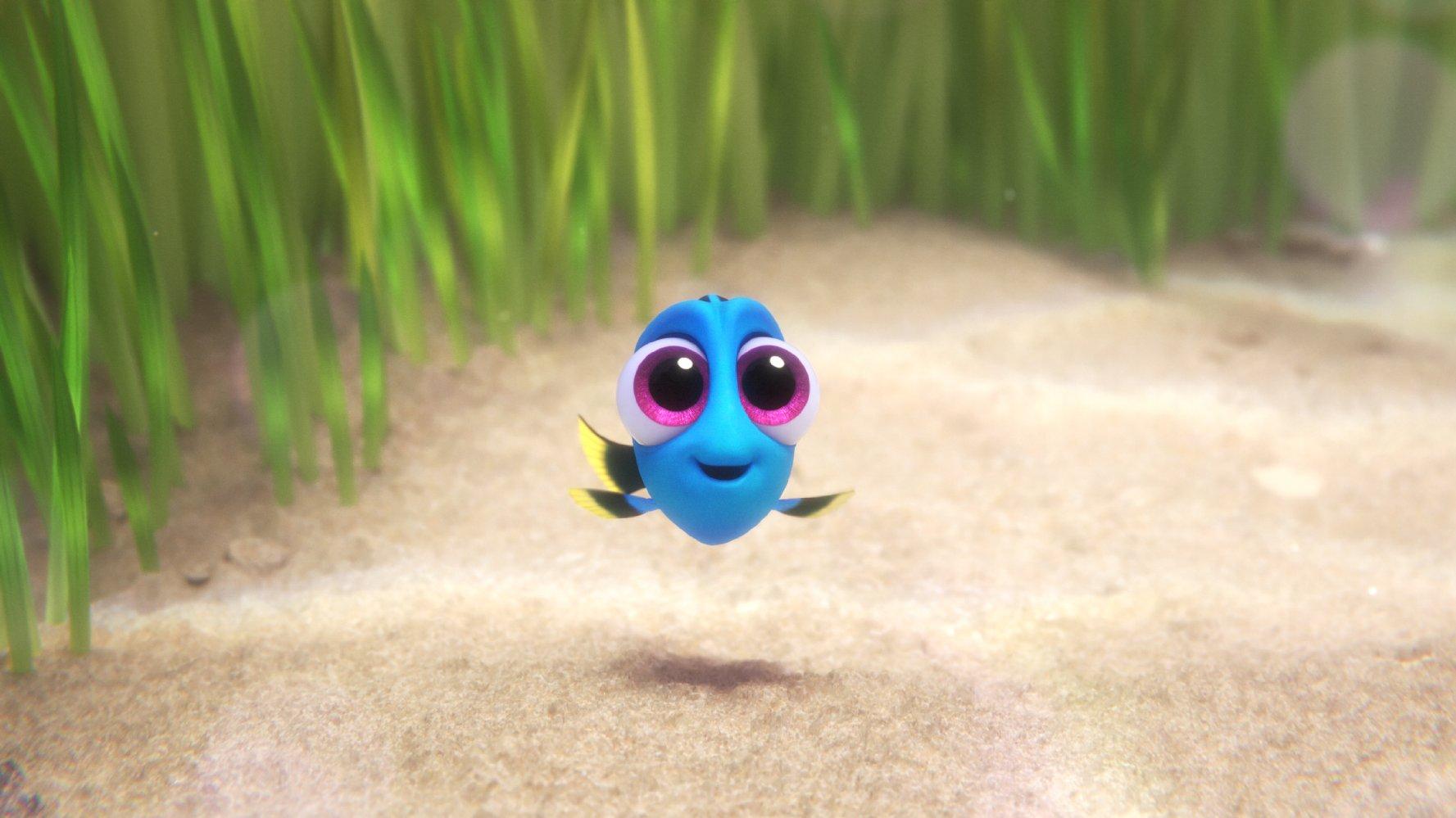 Dorie noch ganz klein. Quelle: © Disney/Pixar