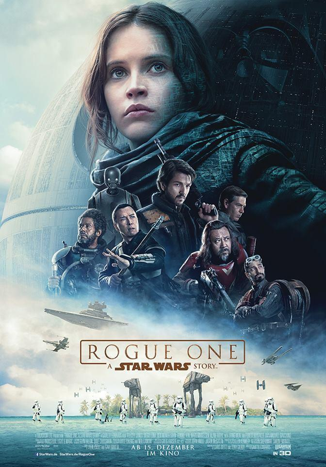 Das neue Filmeplakat zu Rogue One - A Star Wars Story Quelle: © The Walt Disney Company Germany GmbH