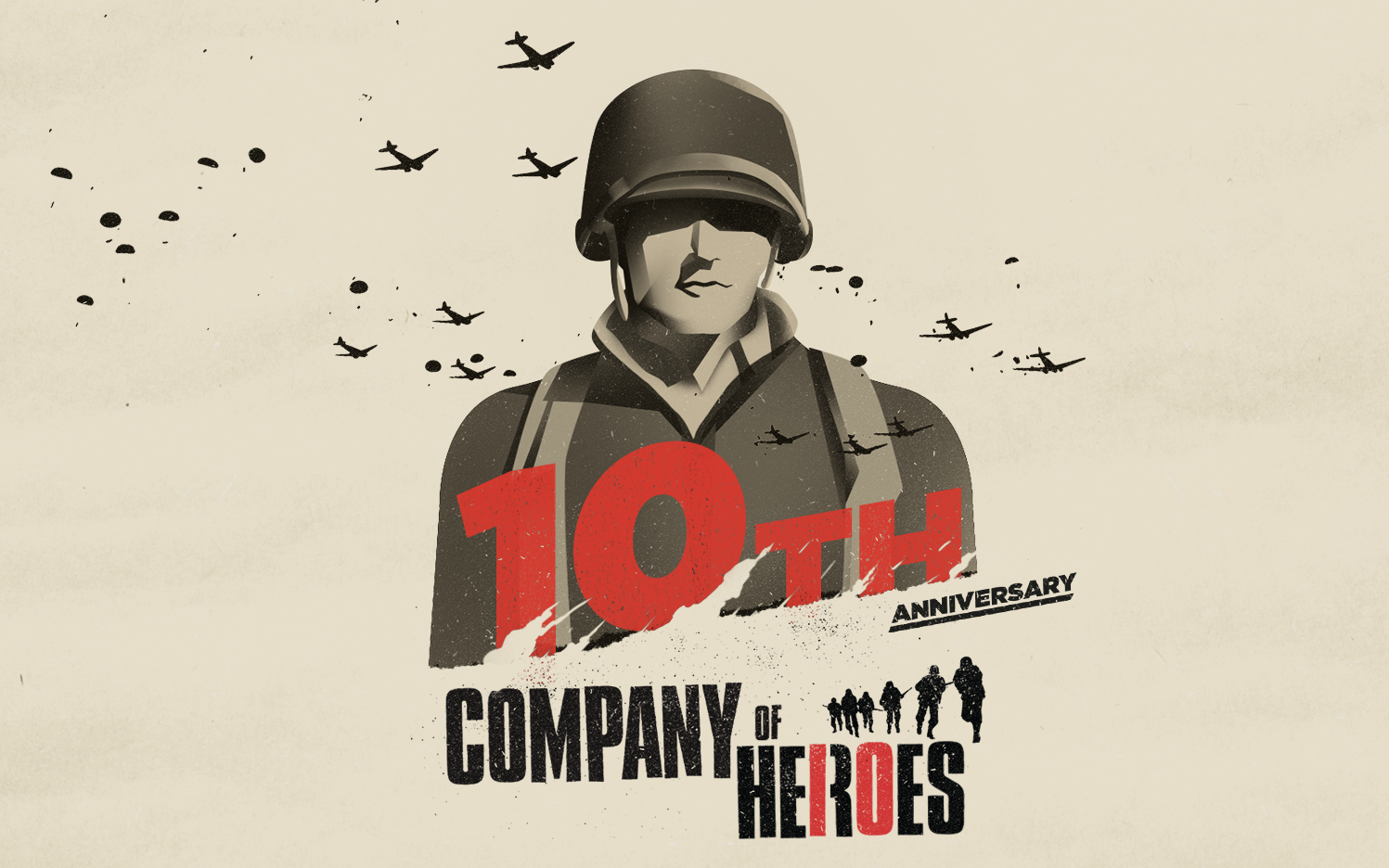 Zehn Jahre Company of Heroes: Das Plakat Quelle: © Relic Entertainment