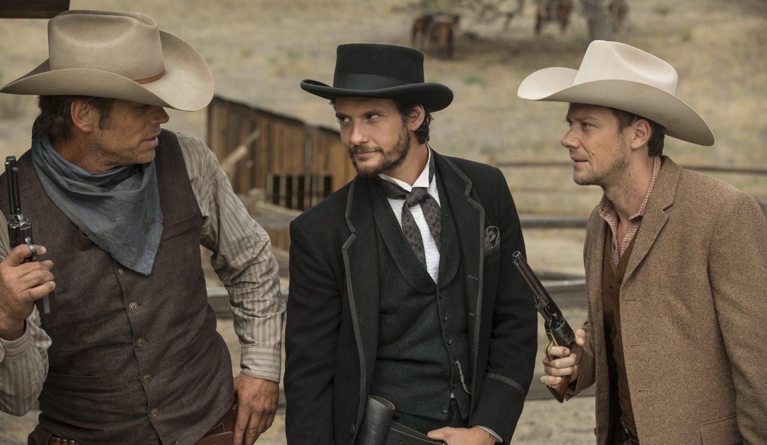 Auf der Suche nach Action: Logan und William (Quelle: HBO)