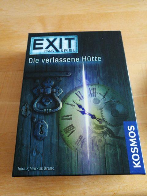 Escape the room in kleiner Schachtel: Exit- Die verlassene Hütte