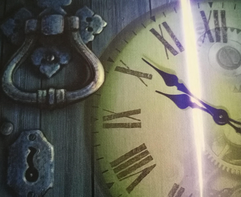 Die Tür ist verschlossen und die Zeit läuft - werdet ihr entkommen? (Foto: Désirée Rath, Design © Kosmos)