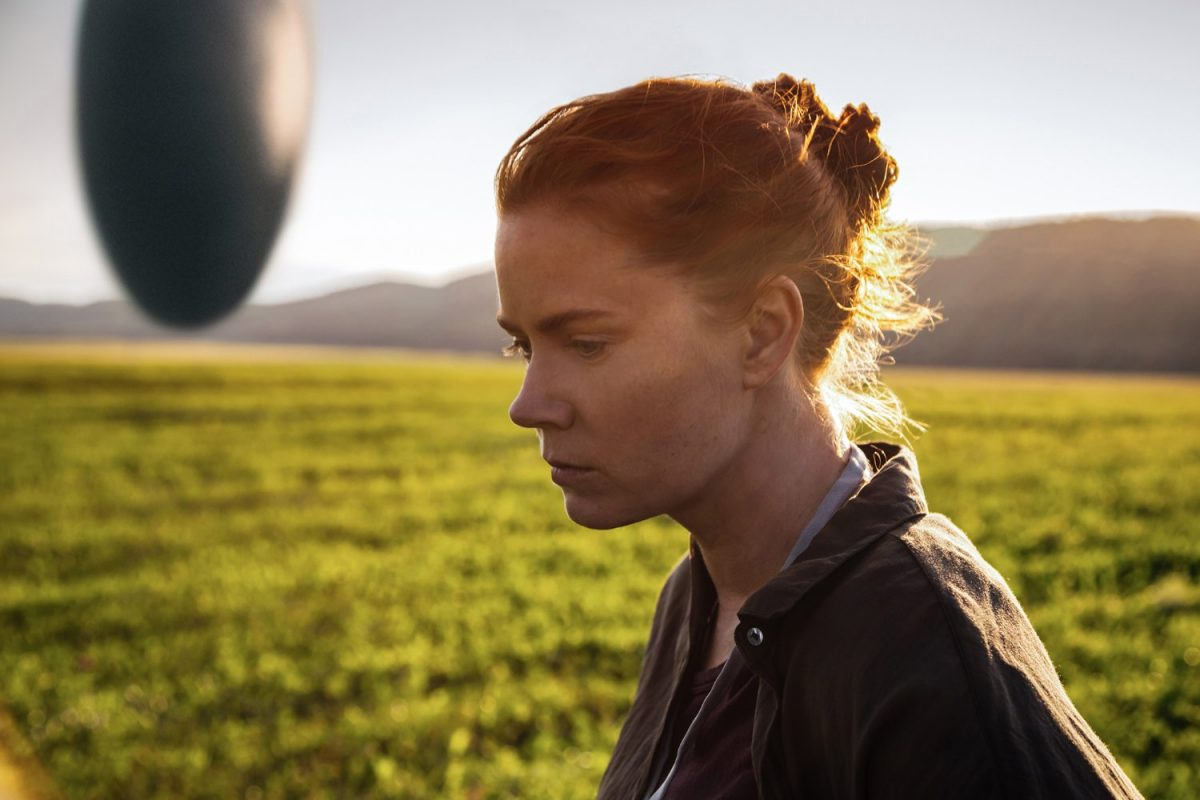Amy Adams spricht mit Aliens in Arrival. © 2016 PARAMOUNT PICTURES