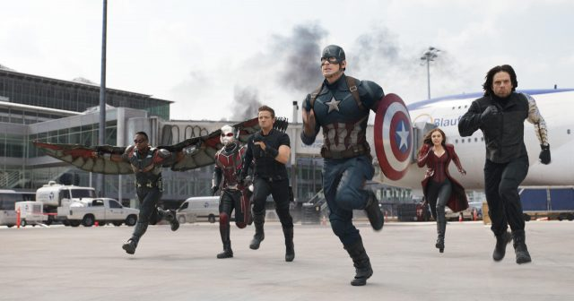 """Don´t touch my Bucky!"" - Steve Rogers tritt mit seinem Team gegen Tony Stark & Co. an. (Quelle: © The Walt Disney Company Germany GmbH)"