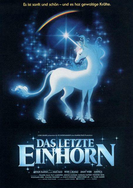 Das Filmposter von Das Letzte Einhorn. (Quelle: © Filmwelt Verleihagentur GmbH)
