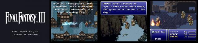 Einige Jahre und eine Konsolengeneration später holte Teil VI das technisch beste aus dem Super Nintendo heraus. Teil VI wurde in den USA übrigens zunächst als Final Fantasy III released, da es der 3. dort erschienene Teil war. (Final Fantasy VI, 1994 - Eigene Screenshots / © Square Enix)