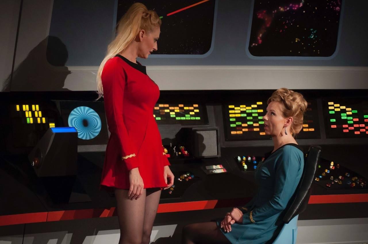 Frauenrollen haben sich im Laufe der Jahrzehnte in Star Trek gewandelt. Star Trek Continues beschäftigt sich mit diesem Umstand. Quelle Star Trek Continues